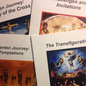 pamphlets about the Lenten Gospels